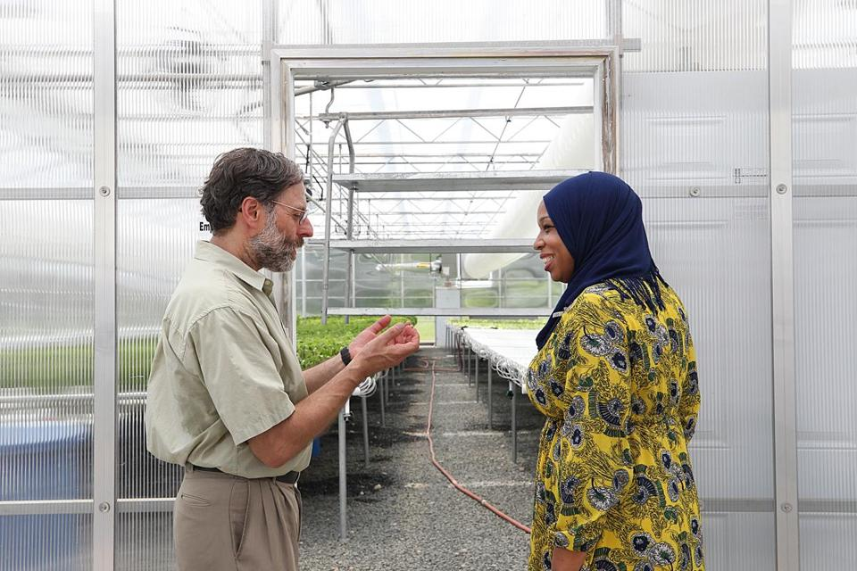 Tahirah Amatul-Wadud spoke with Fred Rose, founder of Wellspring Harvest Greenhouse.