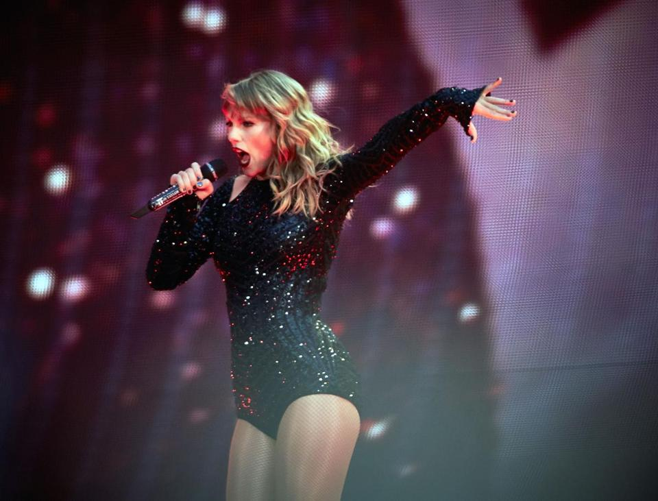 Taylor Swift performed during her concert at Wembley Stadium in London on June 22 as part of her Reputation Stadium Tour. The tour rolls into Masschusetts later this month.