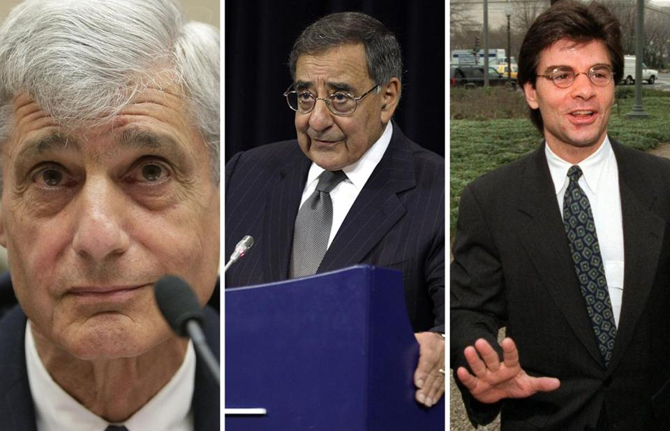 Although Clinton argued he needed to sign welfare reform to avoid losing reelection, his savviest aides argued otherwise, including, from left, Robert Rubin, Leon Panetta, and George Stephanopoulos.