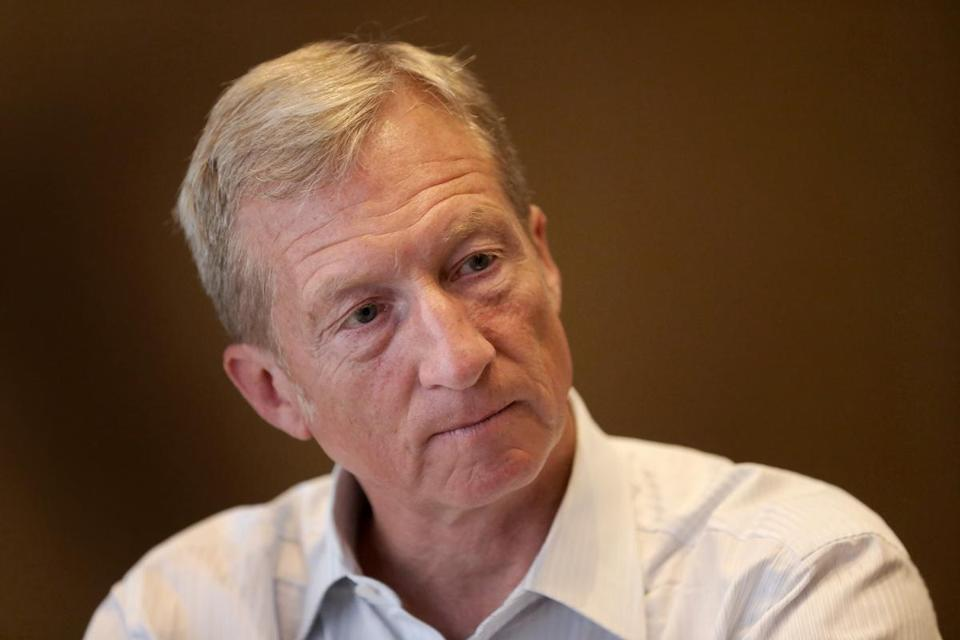 Tom Steyer is trying to gather support for a campaign to impeach President Trump.