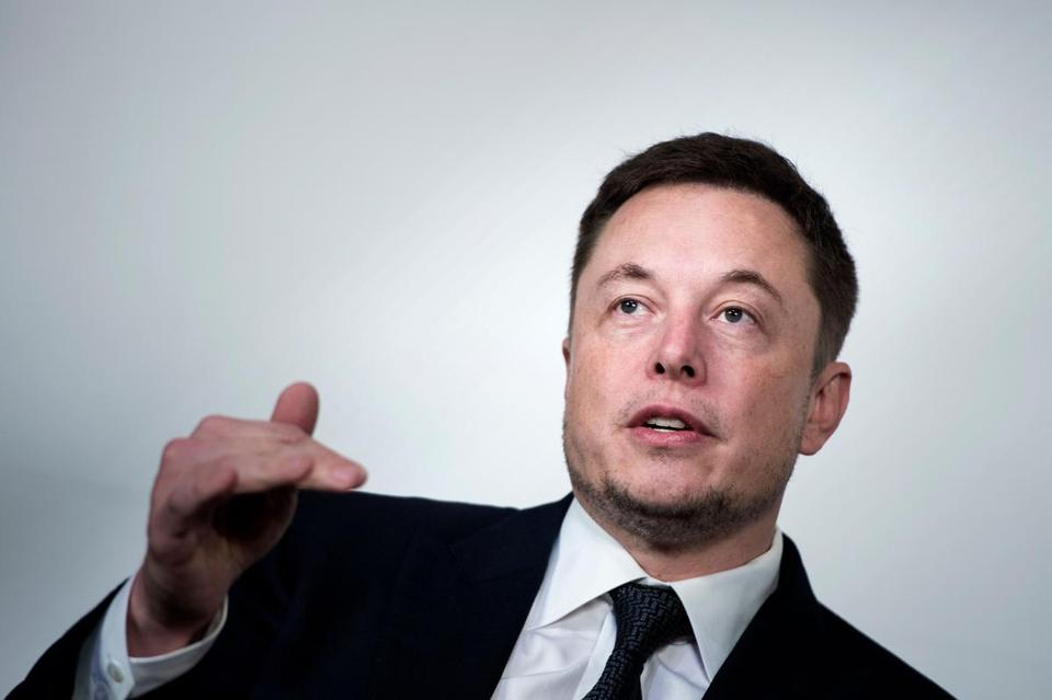 Billionaire Elon Musk is the chief executive officer of electric-car maker Tesla.