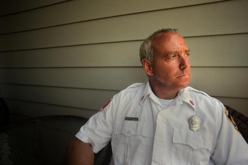 Captain Rick Stack, a long-time North Attleboro firefighter, has been diagnosed with PTSD.