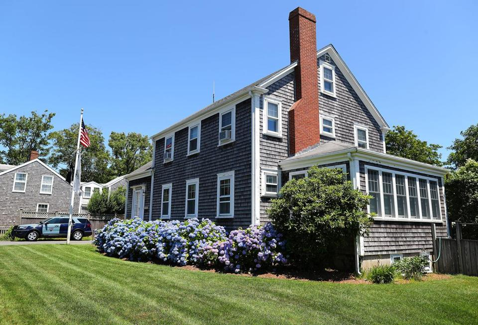 The State Police have a barracks on North Liberty Street in Nantucket.