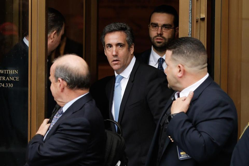 President Trump's former lawyer, Michael Cohen.