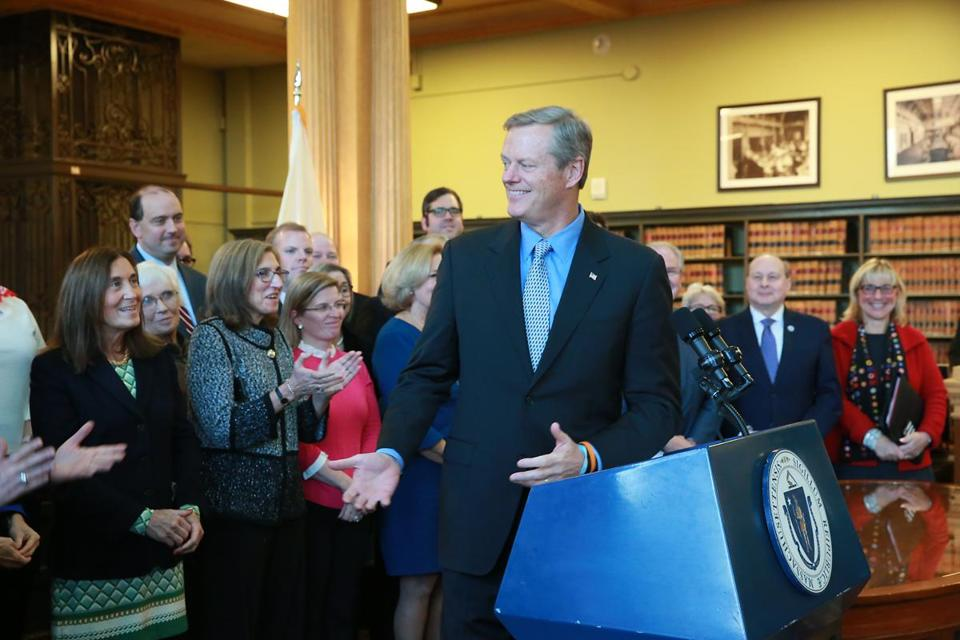 Governor Charlie Baker signed a bill in November 2017 that keeps birth control free, no matter what happens to the Affordable Care Act.