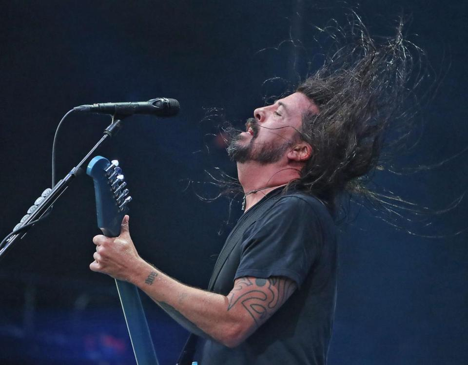 Dave Grohl powered through a marathon show at Fenway Park that almost hit the three-hour mark.