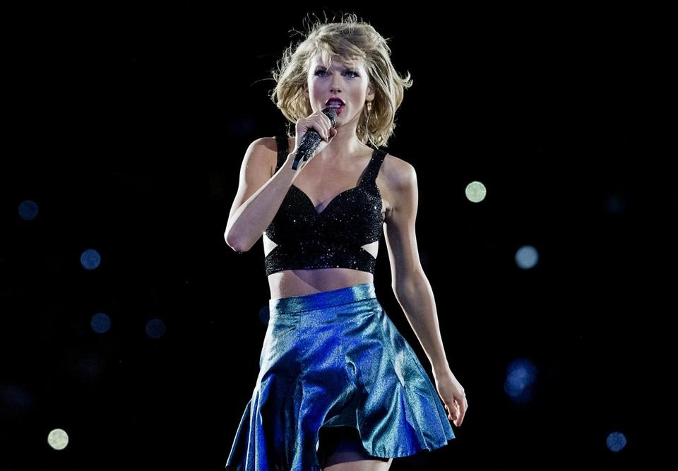 Swift at Gillette Stadium on July 24, 2015.