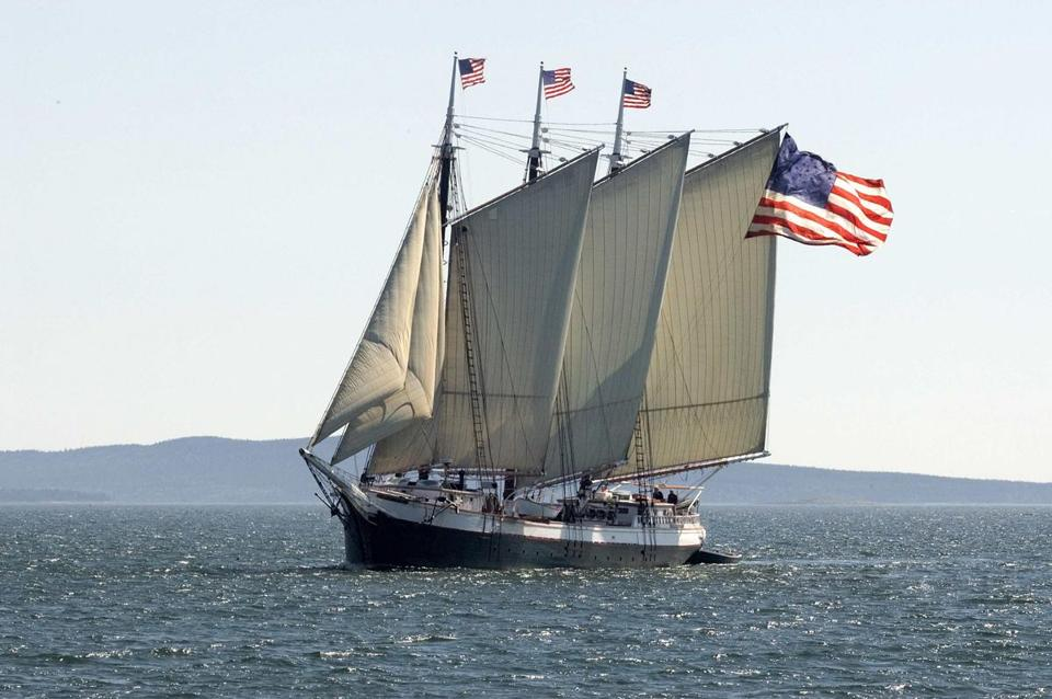 The 25th annual Camden Windjammer Festival runs from Aug. 31 to Sept. 1.