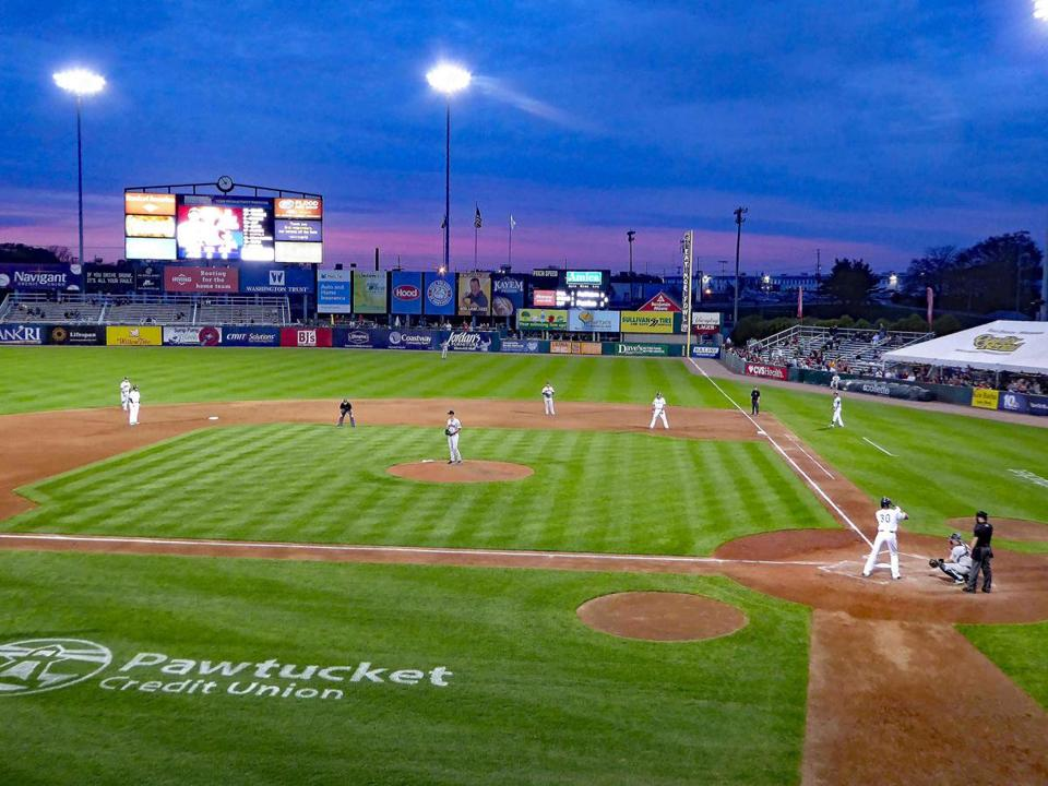 Baseball under the lights at McCoy stadium in Pawtucket, R.I., is a great way to pass a summer evening.
