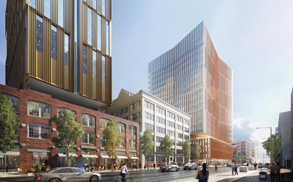 MIT's new Kendall Square office building will also be home to a new school museum in the lobby.