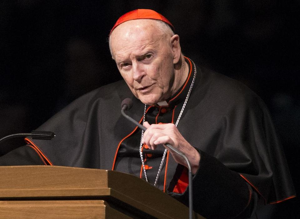 Pope Francis accepted US prelate Theodore McCarrick's offer to resign from the College of Cardinals last week.