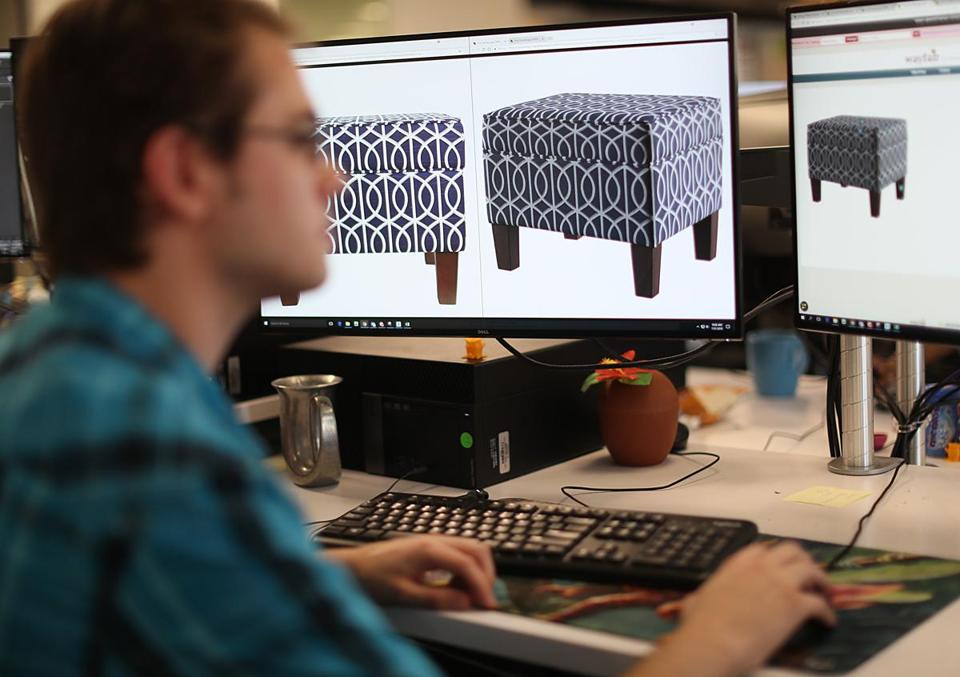 Jay Deveer A 3 D Artist Was At Work On Images Of Furniture