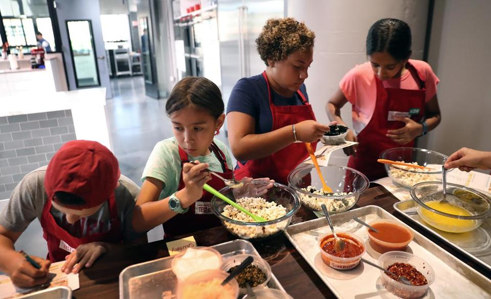 ATK welcomes kids into the kitchen - The Boston Globe on