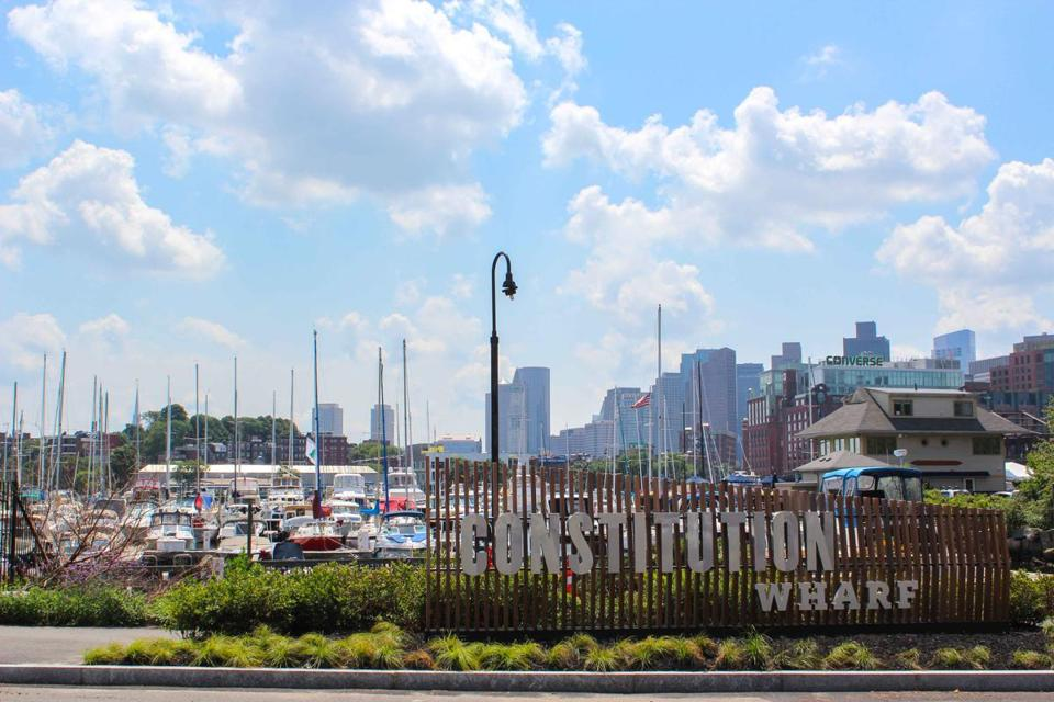 Castle Island Brewing Co. will open its beer garden at the Constitution Wharf in Charlestown.