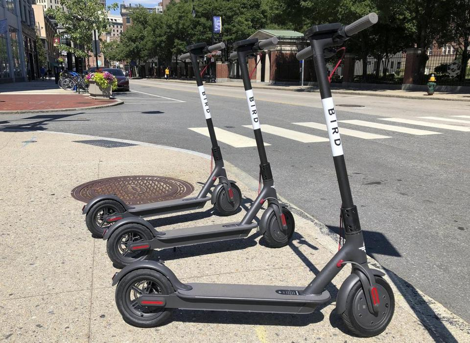 With Bird Scooters About To Be Pulled Off Cambridge Streets I