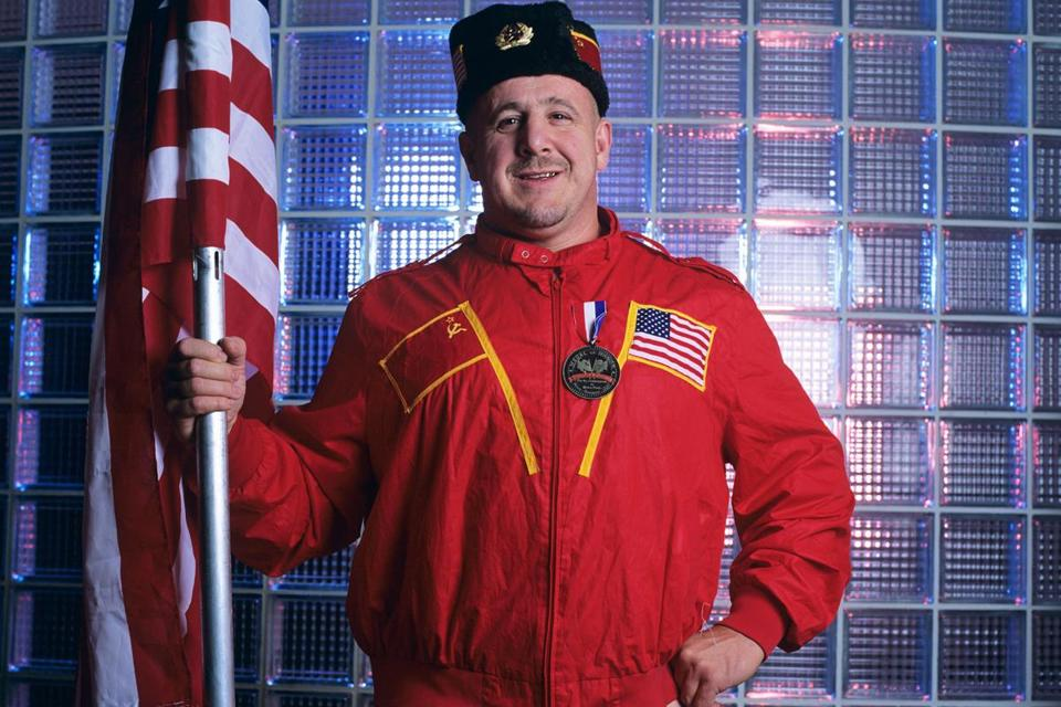 Josip Peruzovic was better known as Soviet wrestler and communist sympathizer Nikolai Volkoff during his WWE career. MUST CREDIT: WWE handout photo