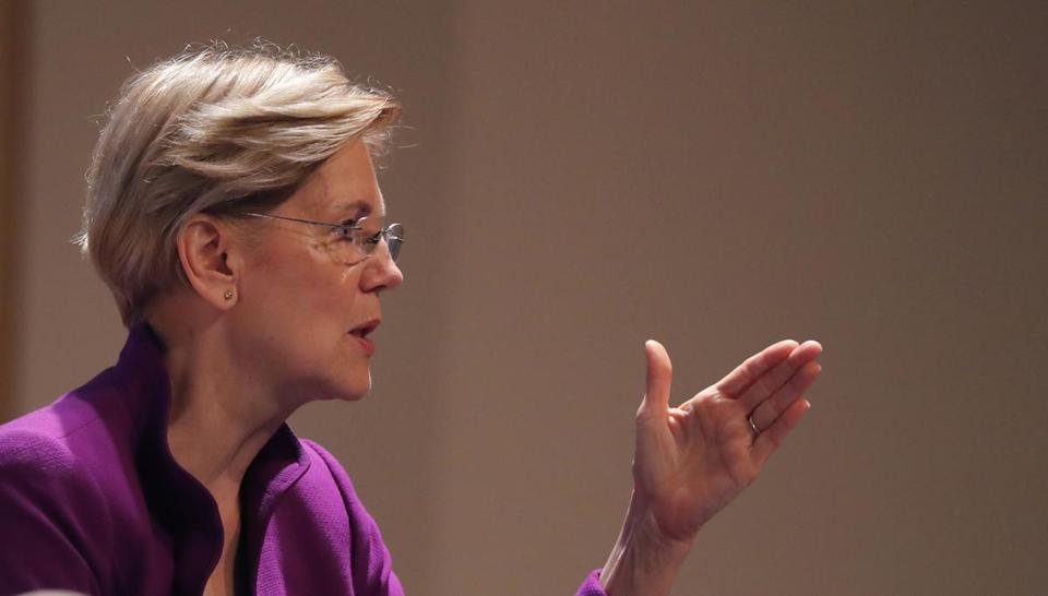Senator Elizabeth Warren, Democrat of Massachusetts