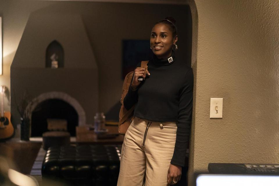 "Issa Rae in a scene from her series ""Insecure."""
