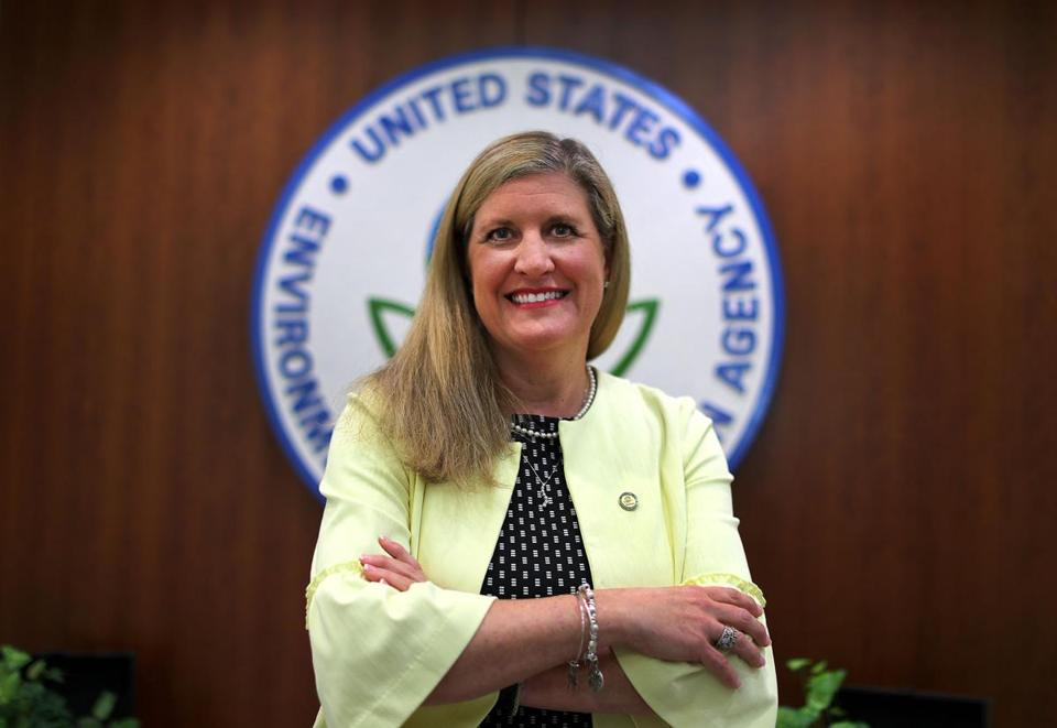 New England EPA administrator Alexandra Dunn has been described as apolitical and driven by science.