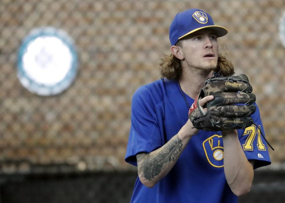 Josh Hader spent time with nine minor league teams, none of which vetted his social media.
