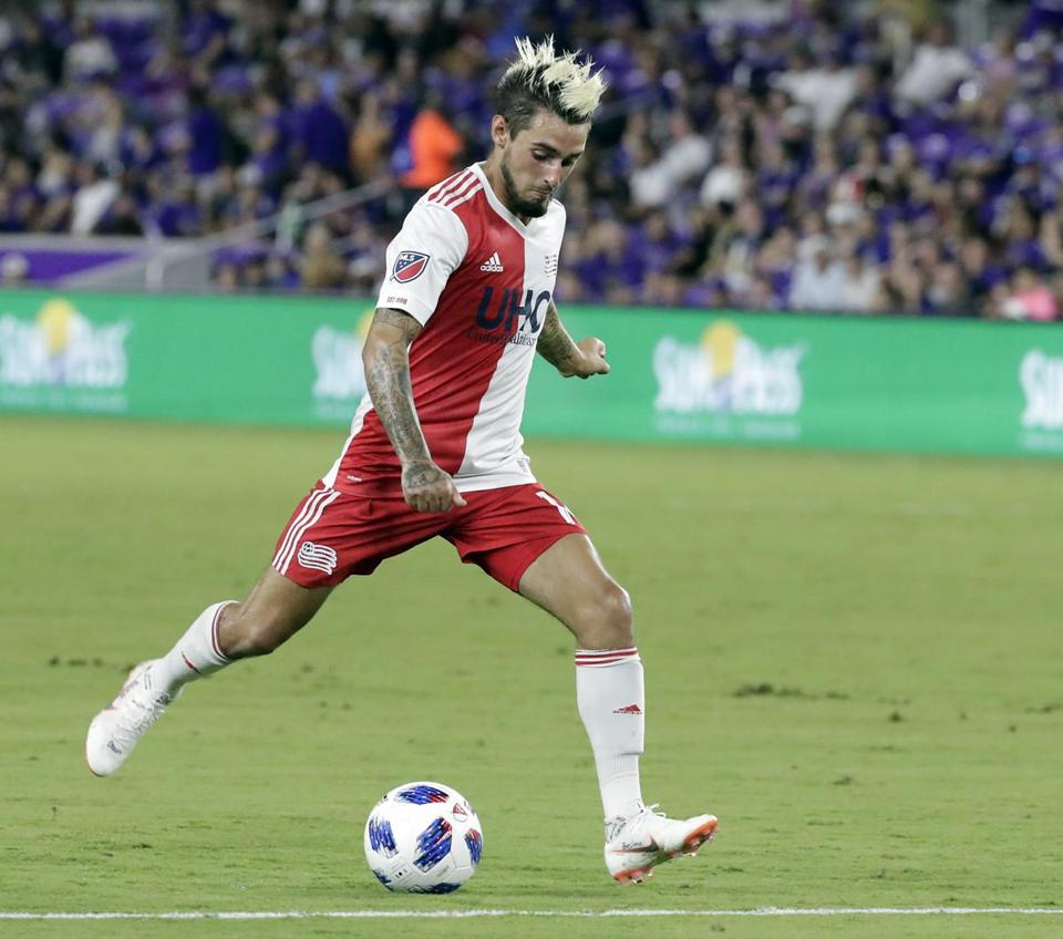 Diego Fagundez, now 23 years old, is the Revolution's second-longest tenured player.