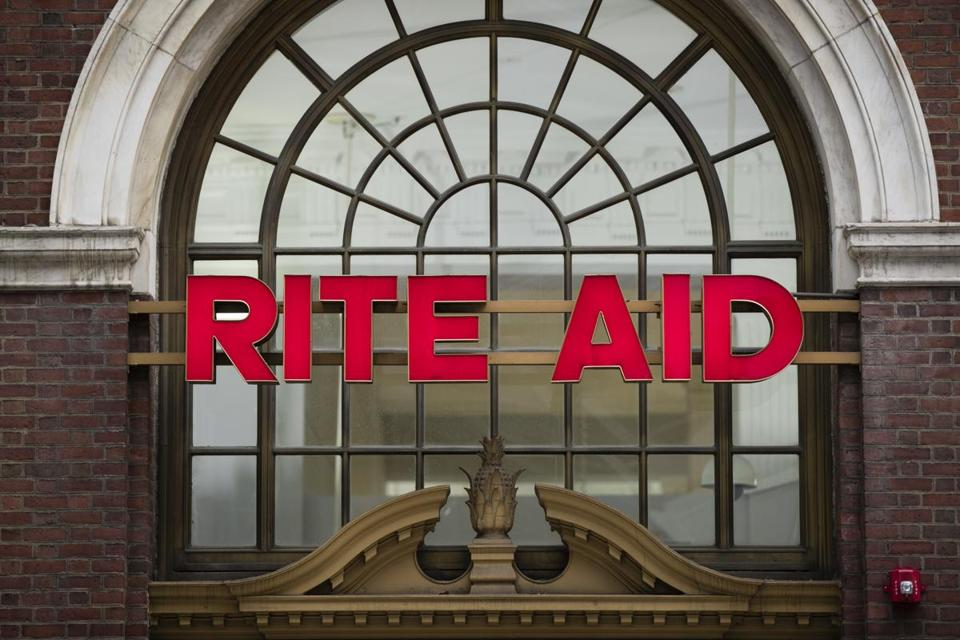 A Rite Aid location in Philadelphia. Drugstore chain Rite Aid and grocer Albertsons say they have called off their merger deal.