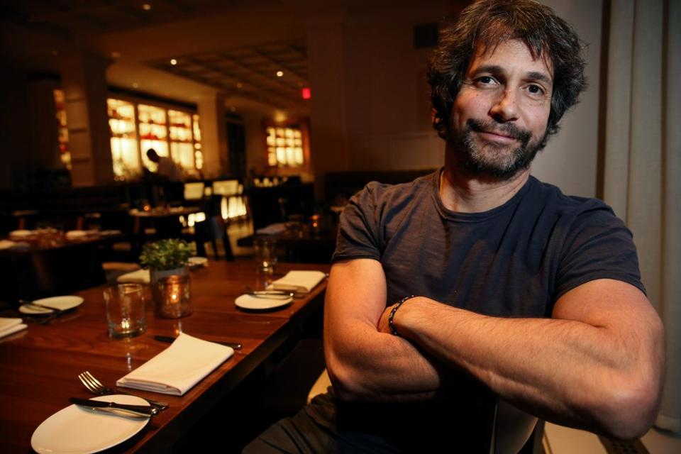 Chef and restaurateur Ken Oringer at Clio in Boston in 2015.