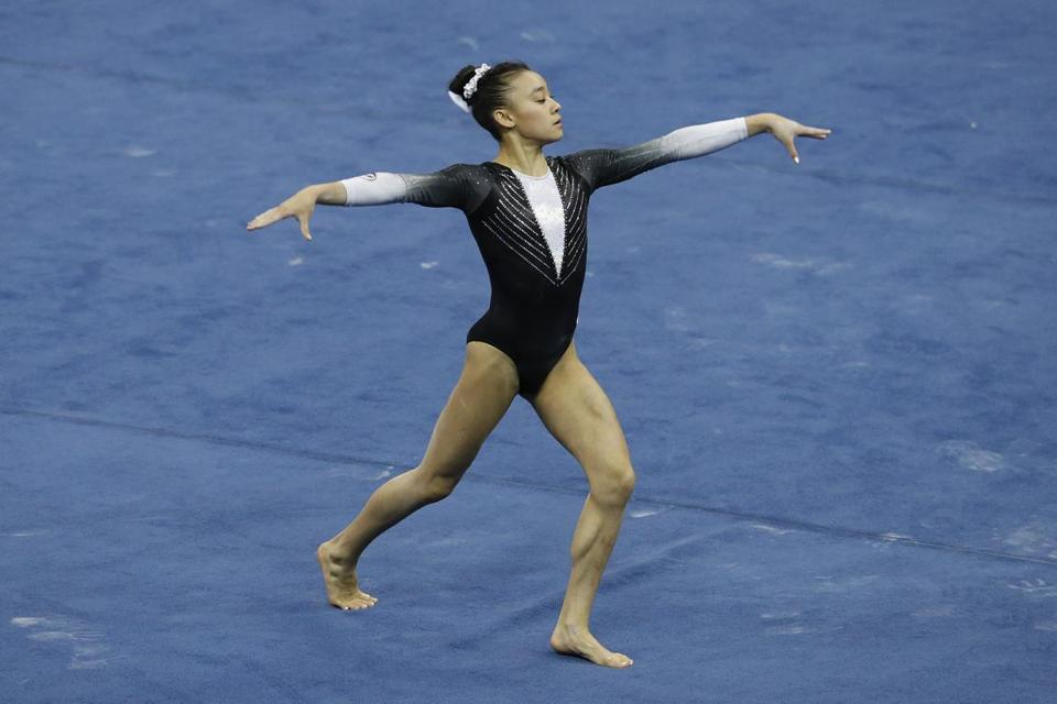 Leanne Wong took home three gold medals in junior competition at the US Classic last month.