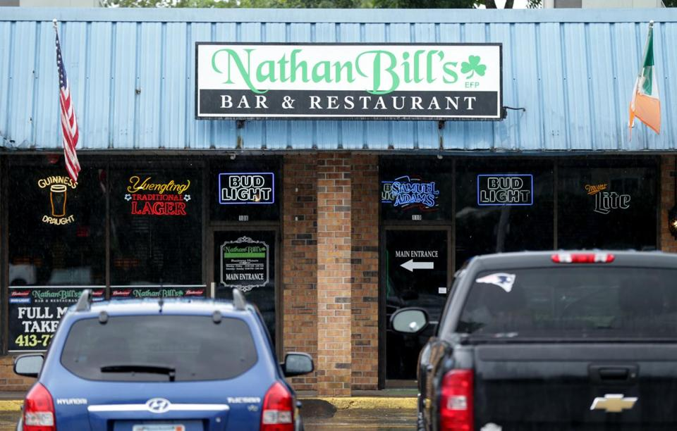 Nathan Bill's Bar & Restaurant, where an alleged beating and coverup by a group of officers reportedly took place.