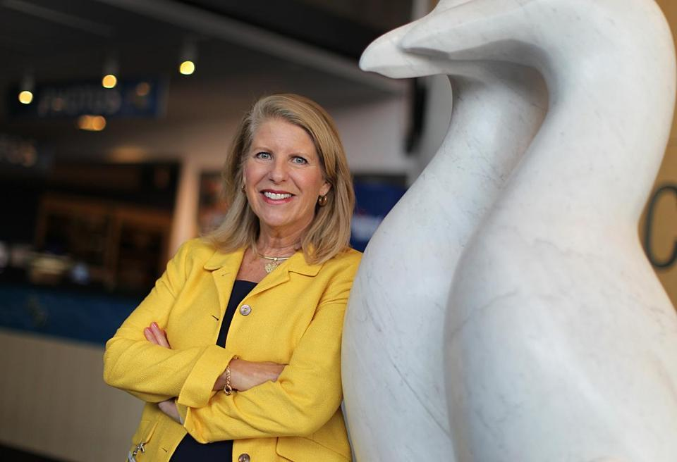 Vikki Spruill is the new president of the New England Aquarium in Boston.