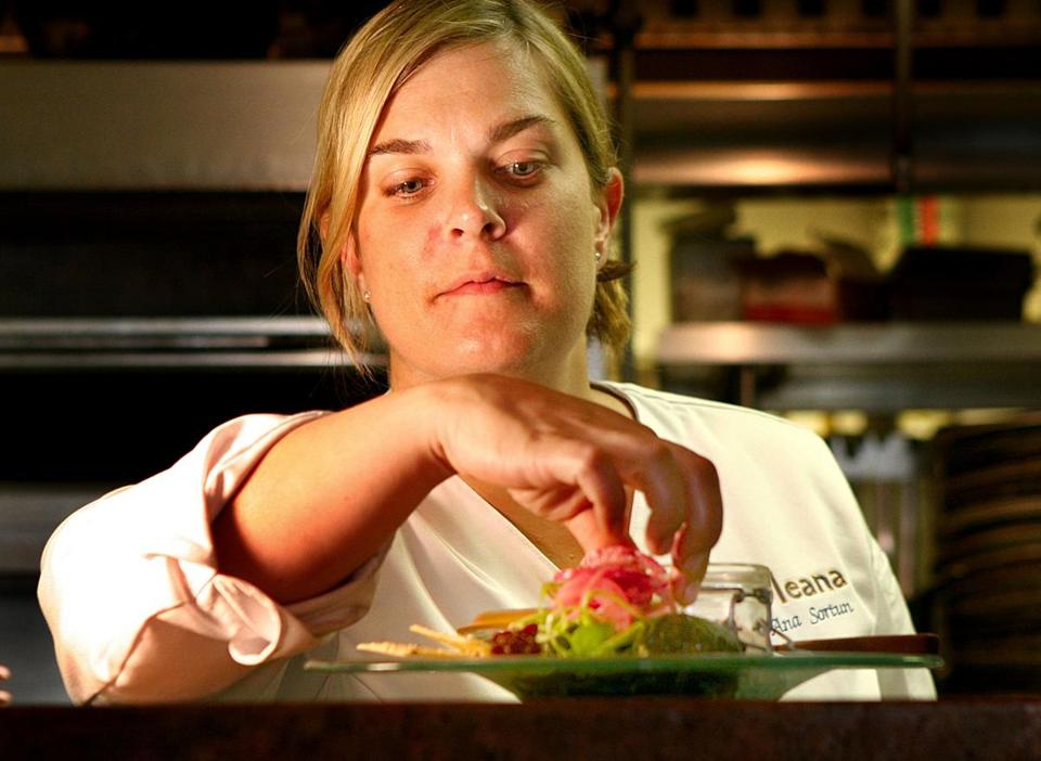 Oleana's chef and owner Ana Sortun.
