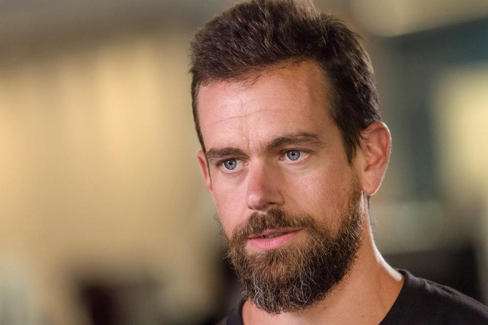Twitter CEO Jack Dorsey spoke during a Bloomberg Television interview in San Francisco earlier this month.