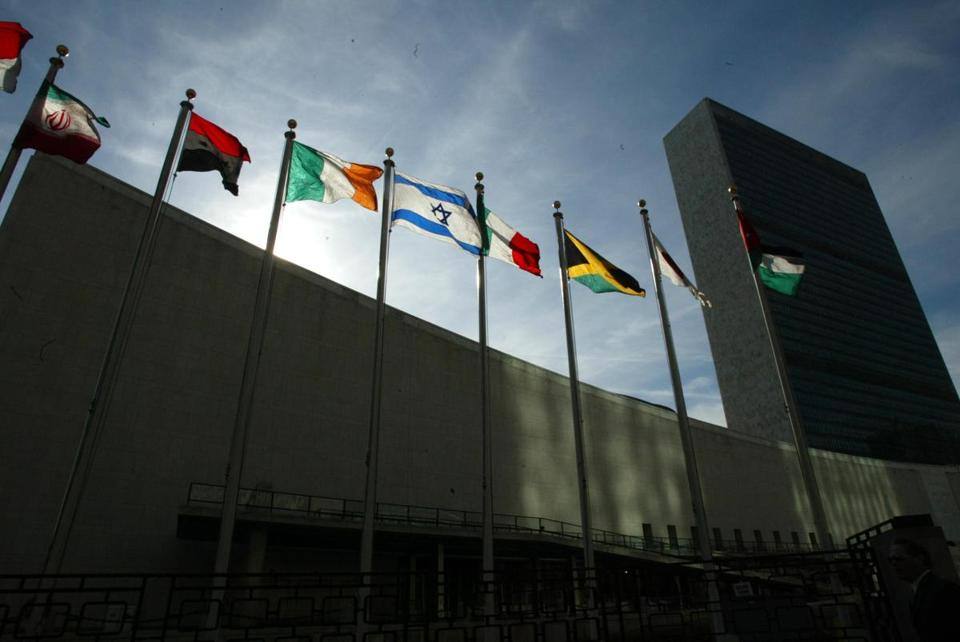 The United Nations borrows much from its 191 member states and very little from New York. Outside, there is rudeness. Inside, there is calm, translated into six languages. (Photo by Ruby Washington/The New York Times)