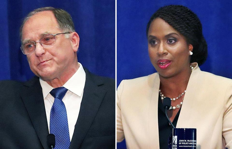 Michael Capuano and Ayanna Pressley.