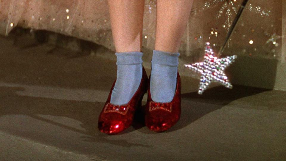 4a7db5e103f1 There s no place like home  Stolen ruby slippers worn in  Wizard of Oz   recovered