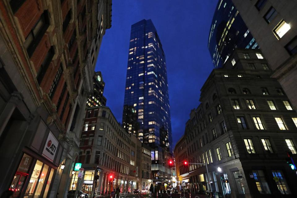 Few residents at Millennium Tower claim a residential exemption, suggesting those units may be second homes or rental properties.