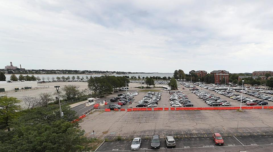 UMass Boston bought the former Bayside Expo Center property out of foreclosure in 2010 for $18.7 million.