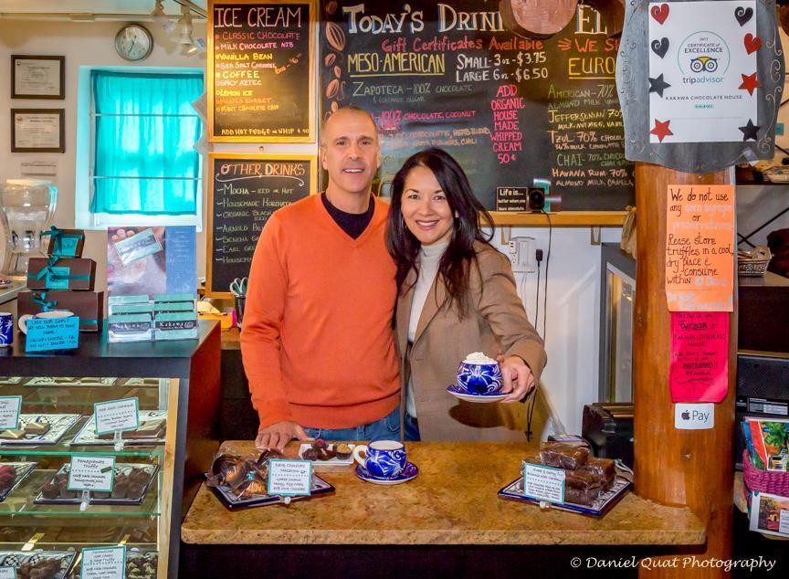 Bonnie Bennett and her husband, Tony, own and operate the Kakawa Chocolate House in Santa Fe. They will open their second shop in Salem, near the Peabody Essex Museum.