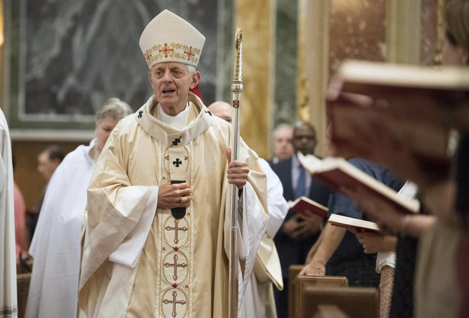 Cardinal Donald Wuerl, archbishop of Washington, at St. Matthew's Cathedral last month.