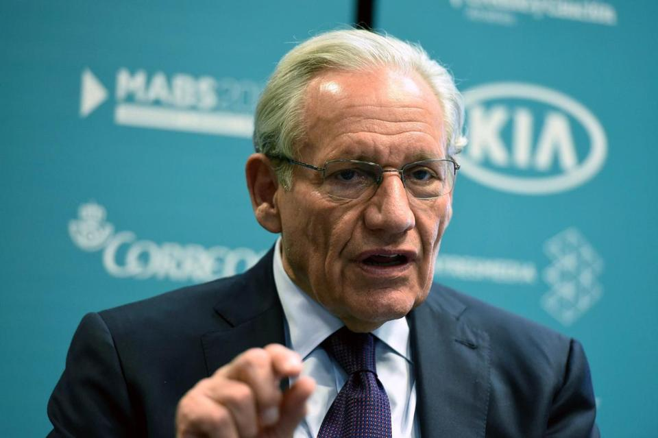 Bob Woodward defended his book in an appearance on NBC's ''Today'' show.