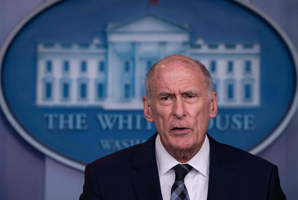 US Director of National Intelligence Dan Coats.