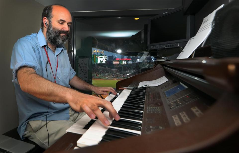 Since 2003, Fenway Park organist Josh Kantor has not missed a Sox home game.