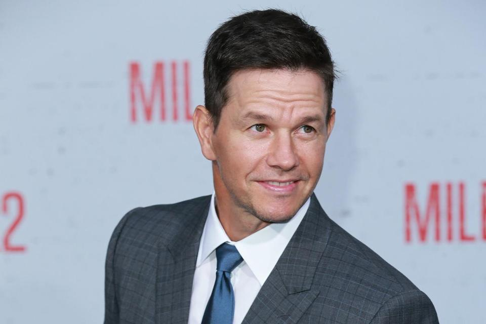 Actor Mark Wahlberg is man on a schedule.