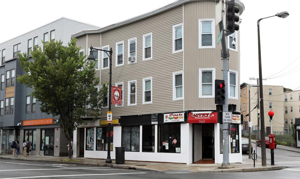 Mackenzie, Ra Kiros, and Coppin are co-own the restaurant, located at 340 Washington St. in Dorchester.