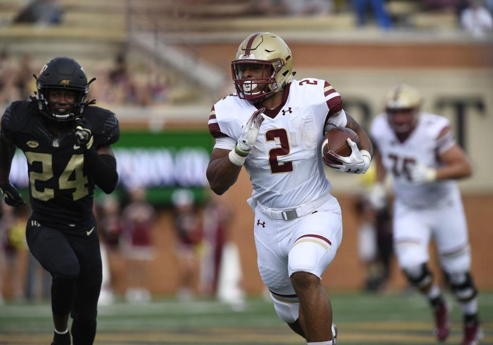 Aj Dillon And The Boston College Football Team Are Ranked Nationally In The Top  Coaches