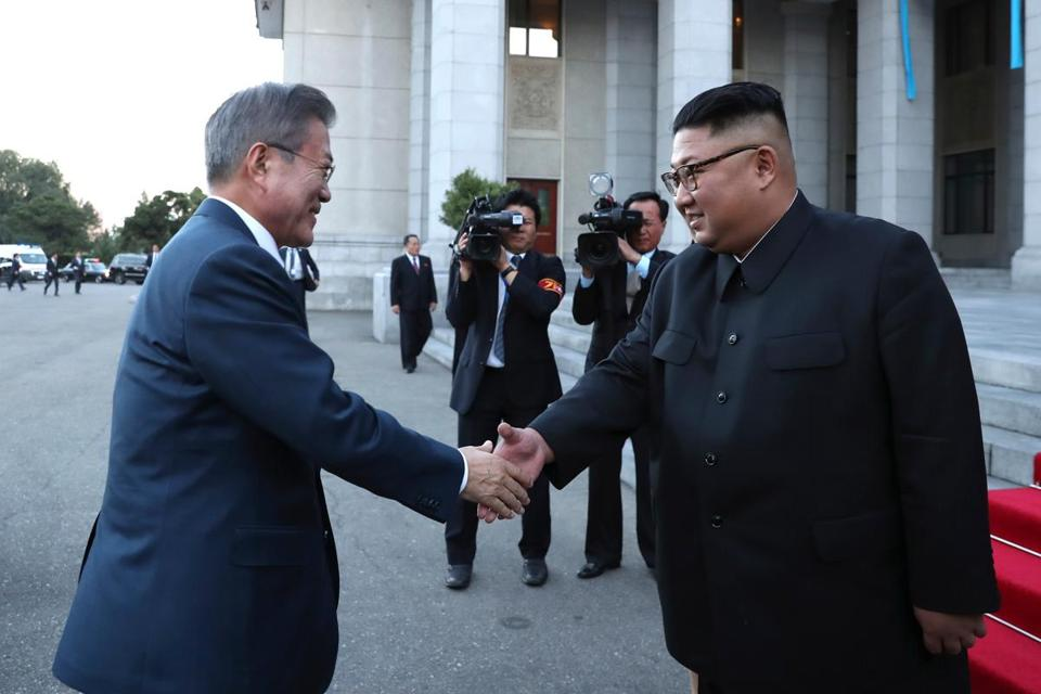 North korea says it will dismantle nuclear complex if us responds north korean leader kim jong un greeted south korean president moon jae in tuesday prior m4hsunfo