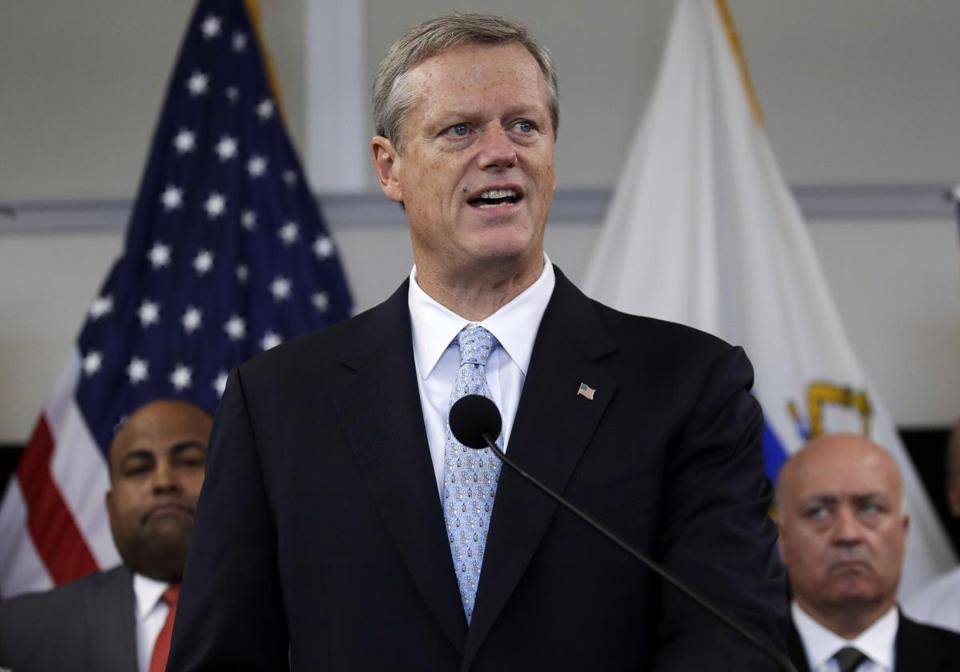 Governor Charlie Baker said Friday he doesn't think Supreme Court nominee Judge Brett Kavanaugh should be elevated to the high court.