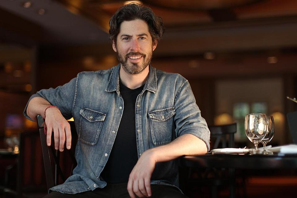 Jason Reitman, in the Four Seasons Hotel, during a recent visit to Boston.
