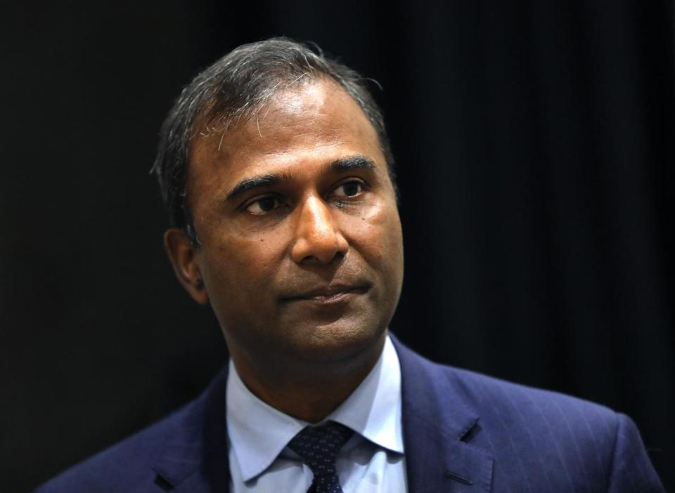 Shiva Ayyadurai is mounting an independent campaign for US Senate.