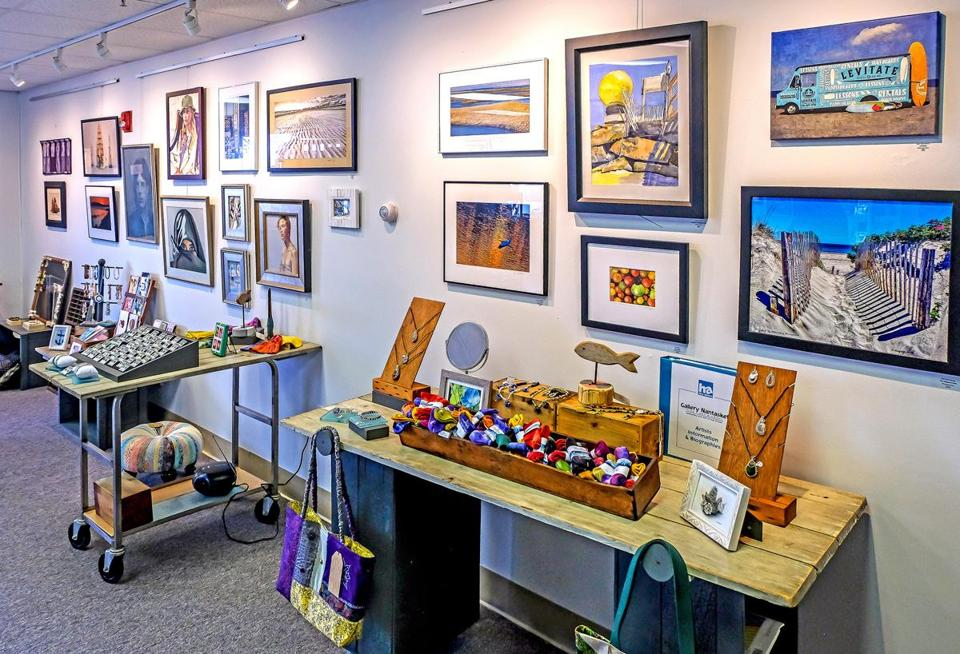 artists bring new creations to hull seaside gallery the boston globe